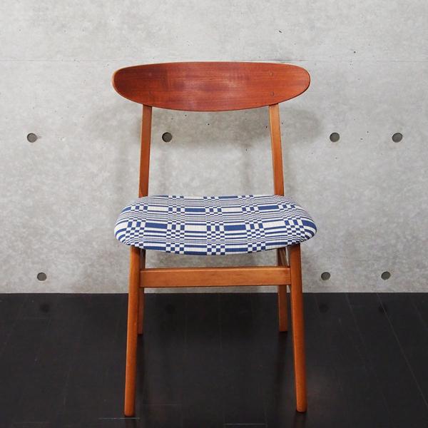 北欧ヴィンテージ家具 Chair Johanna Gullichsen Doris Dark Blue 1
