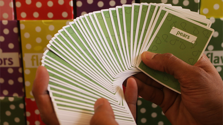 Limited Edition Flavors Playing Cards - Pears