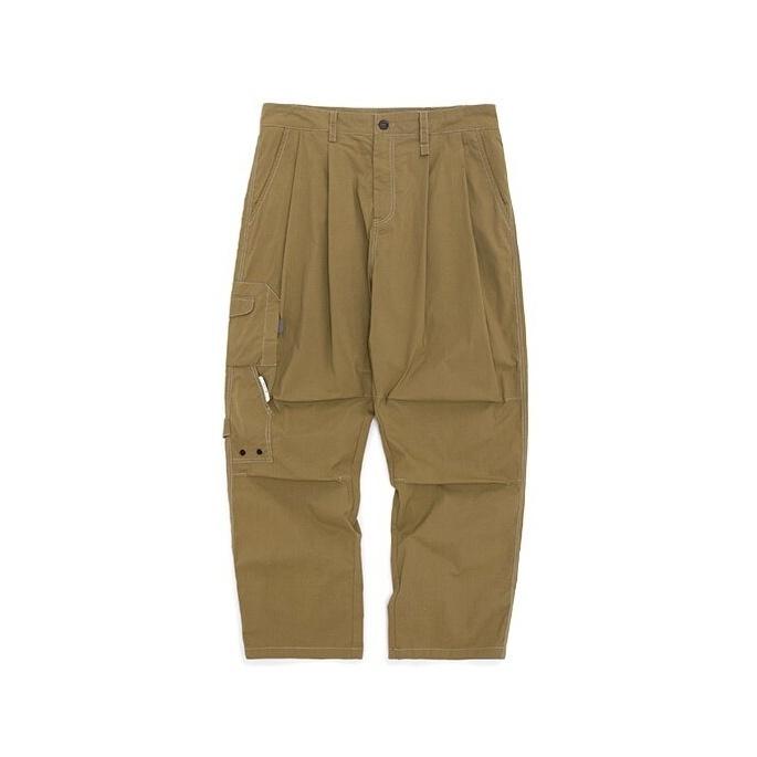 【UNISEX】アウトドア サイドポケット ストレート パンツ【2colors】UN-A0174