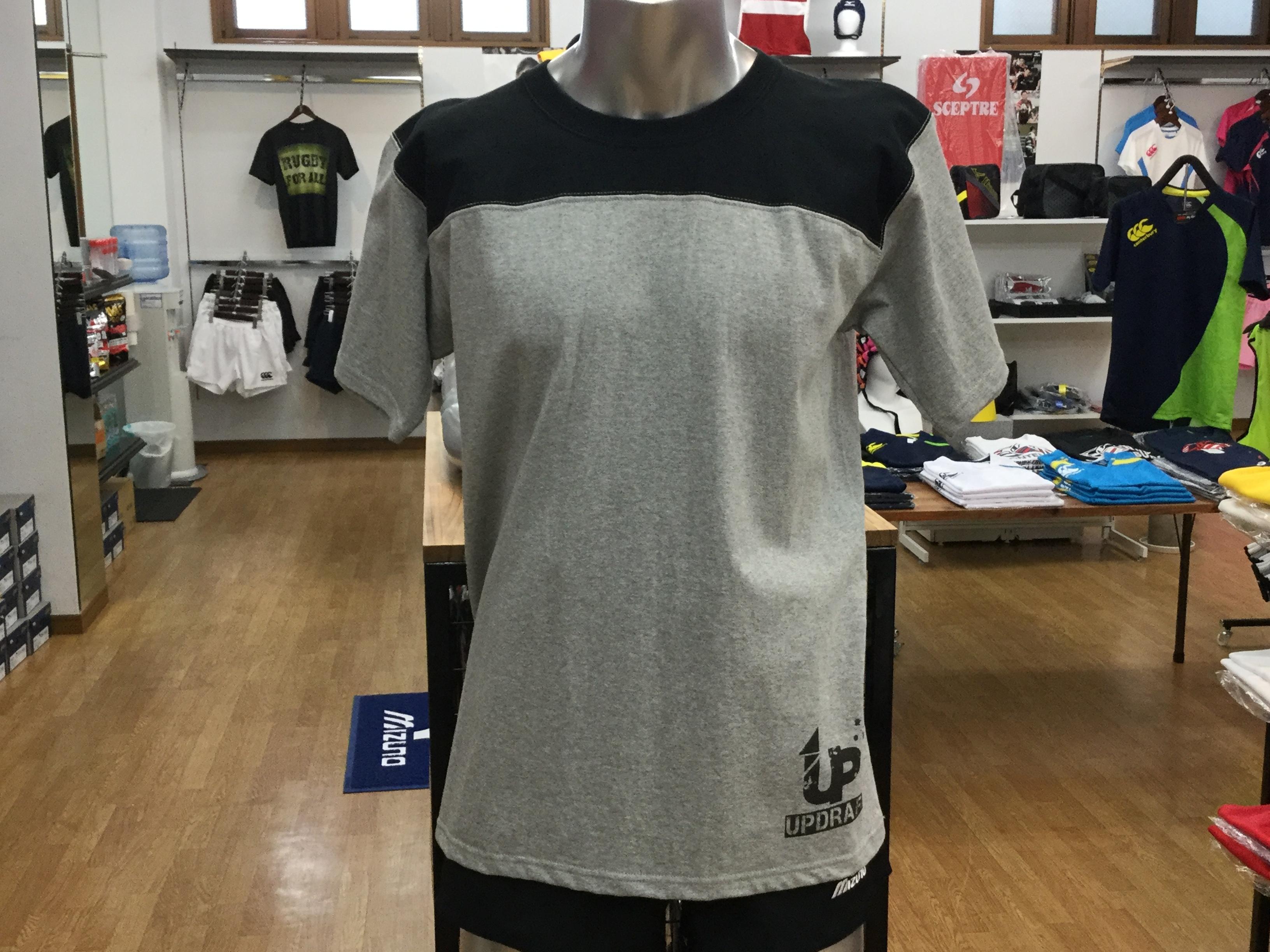 オリジナルTシャツ ブラック×グレー(綿100%)