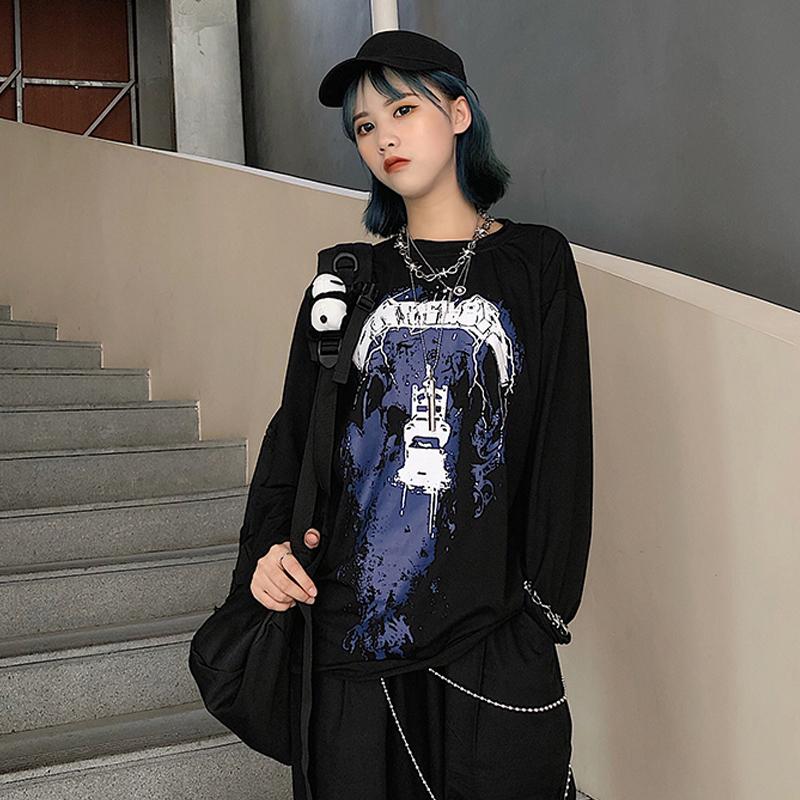 【tops】人気プリントファッションTシャツ22687401