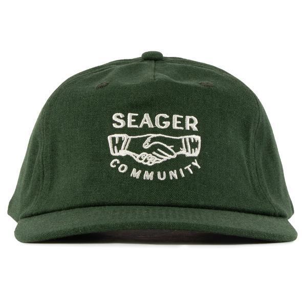 SEAGER #Co.Mmunity Hemp Snapback