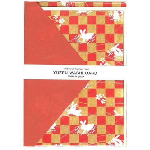友禅 グリーディングカード