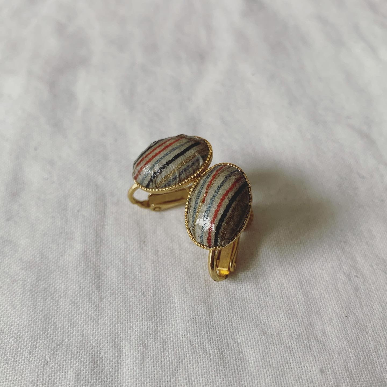vintage retro earring