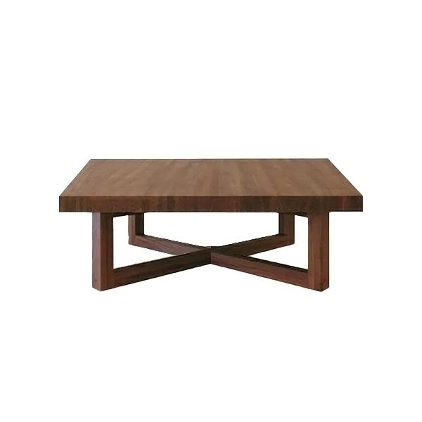 バーデン リビングテーブル ウォールナット 900*900*350
