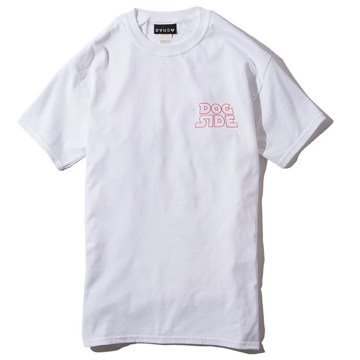 Deviluse(デビルユース) | DOG SIDE T-shirts(White)