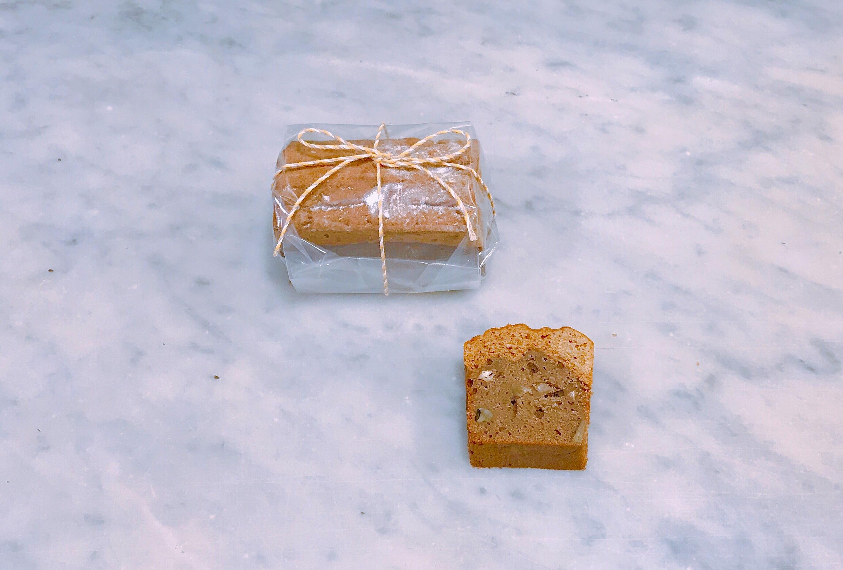 有機野菜とそば粉のパウンドケーキ(根菜)