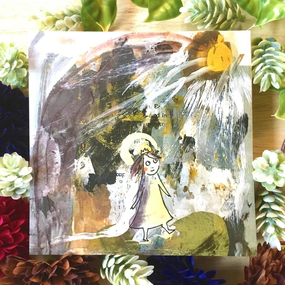 絵画 インテリア アートパネル 雑貨 壁掛け 置物 おしゃれ イラスト 孤高 王女 ロココロ 画家 : mycof 作品 : 孤高の王女