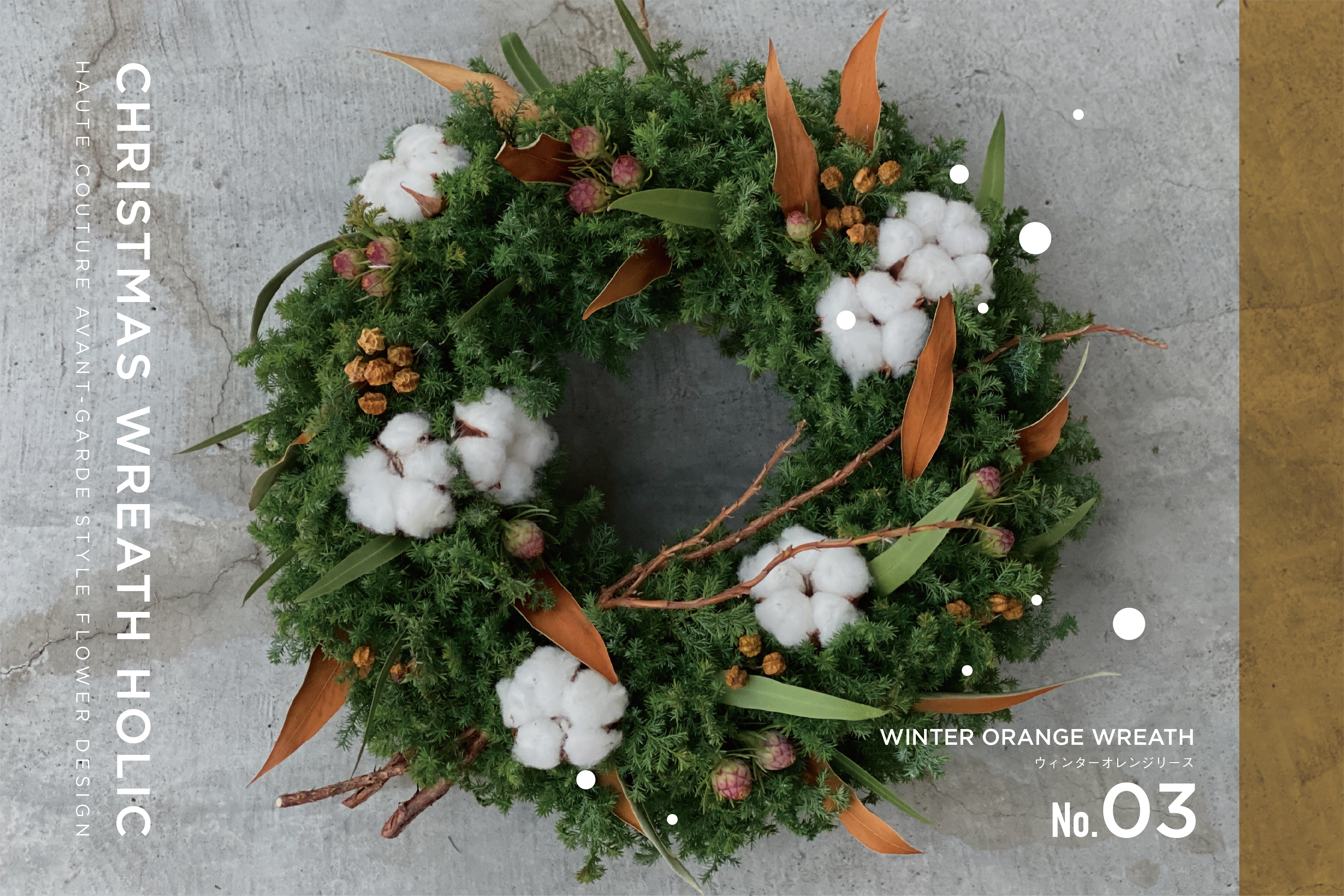 CHRISTMAS WREATH HOLIC/size:M