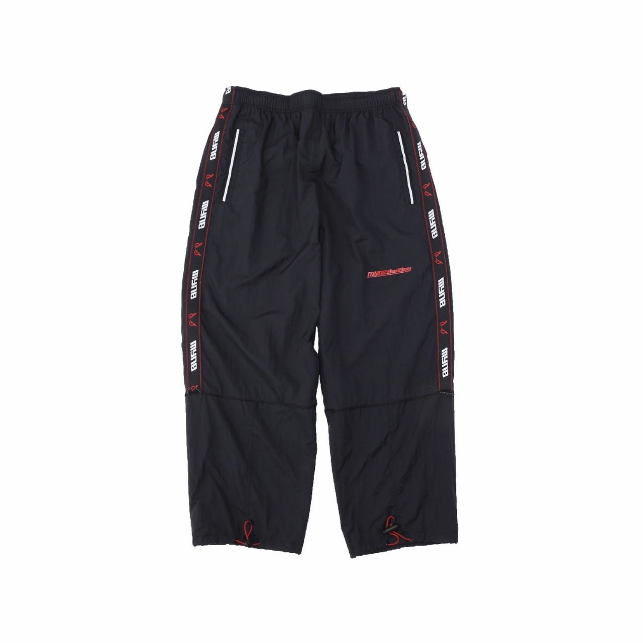 MYne × BADBOY Track pants / BLACK - 画像1