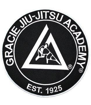 グレイシー・アカデミーオフィシャル刺繍ワッペン  ブラック
