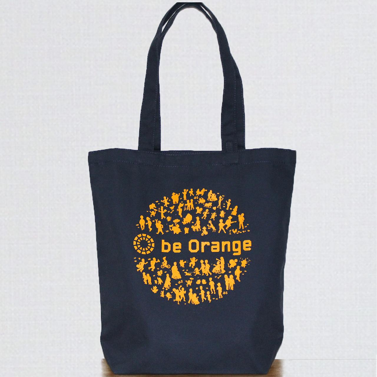【バッグ】チャリティートートバッグ(ネイビー) ※寄付つき商品