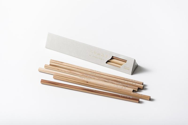 六甲山鉛筆(6本入 / 2B )(GREY)