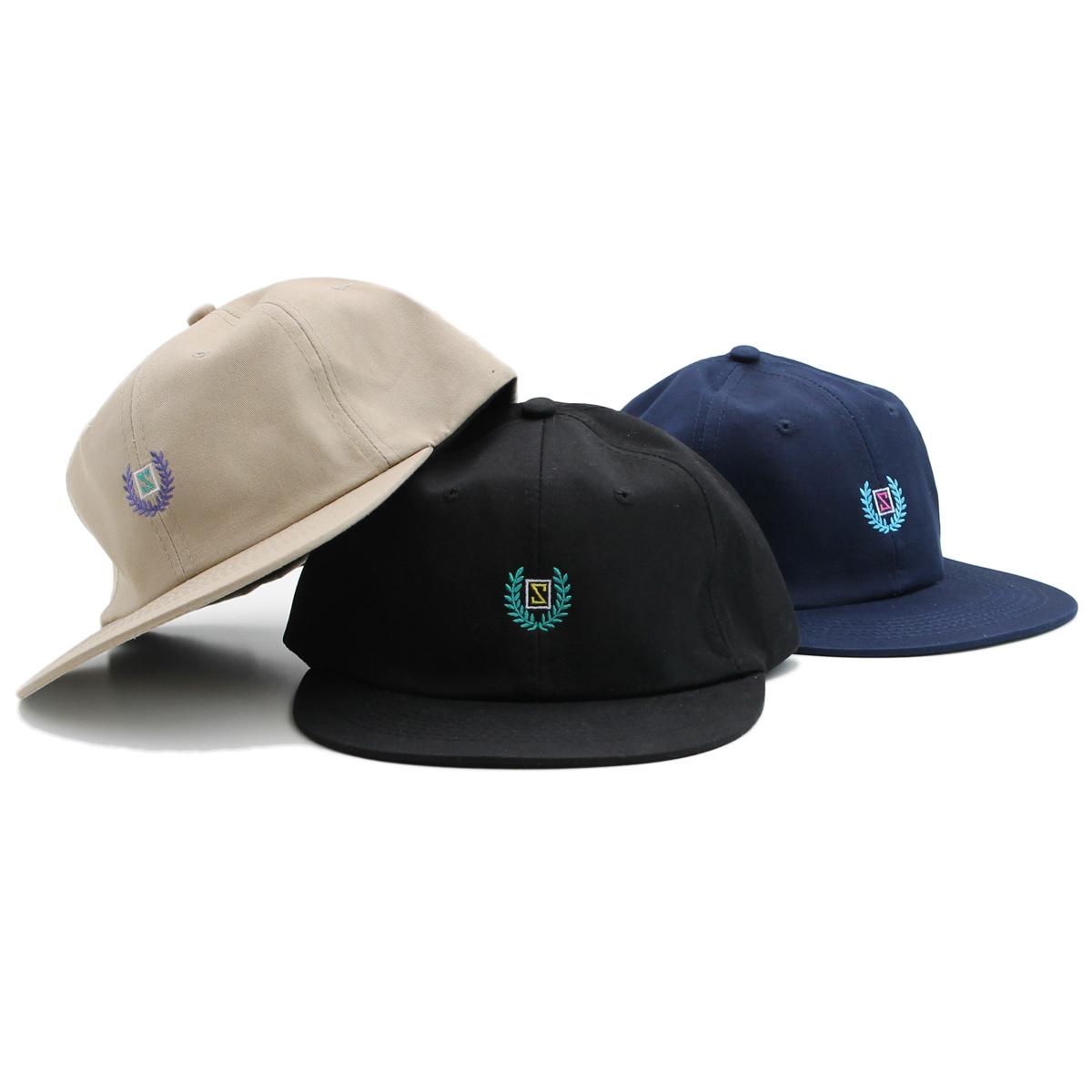 LAUREL STRAPBACK CAP #BEIGE