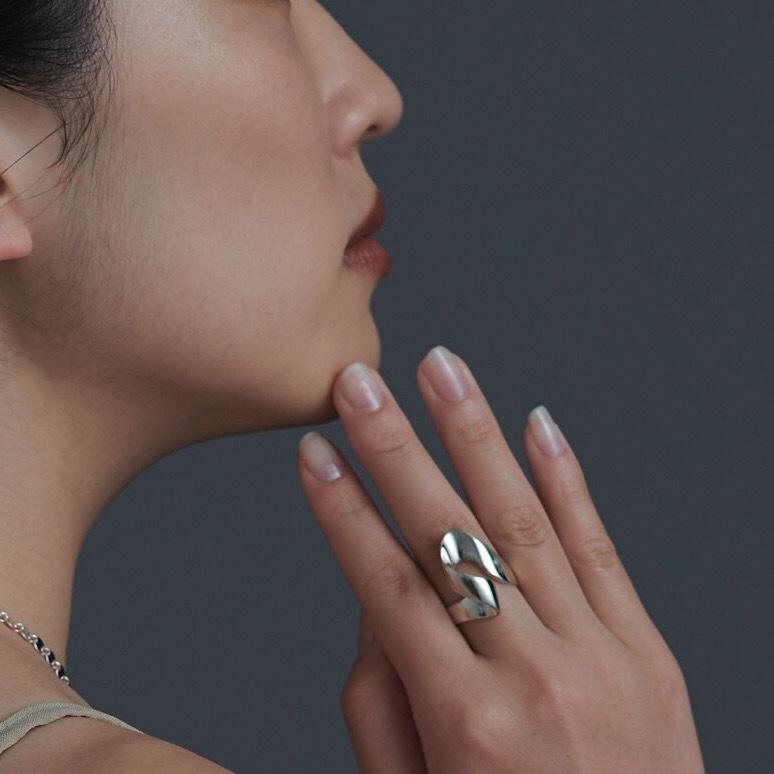 【受注生産】R-S4 silver925 ring