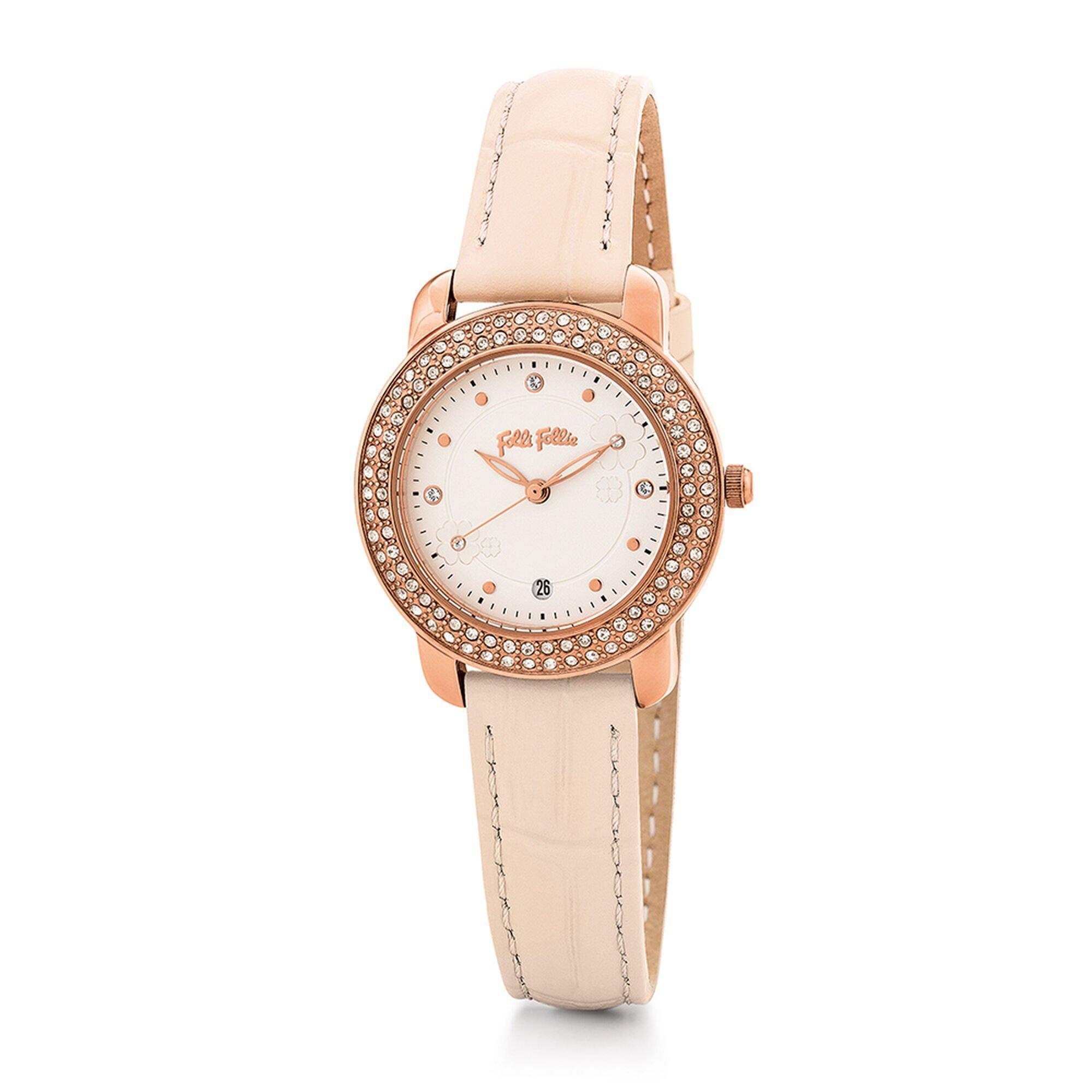 H4H FLORAL レザーウォッチ/腕時計