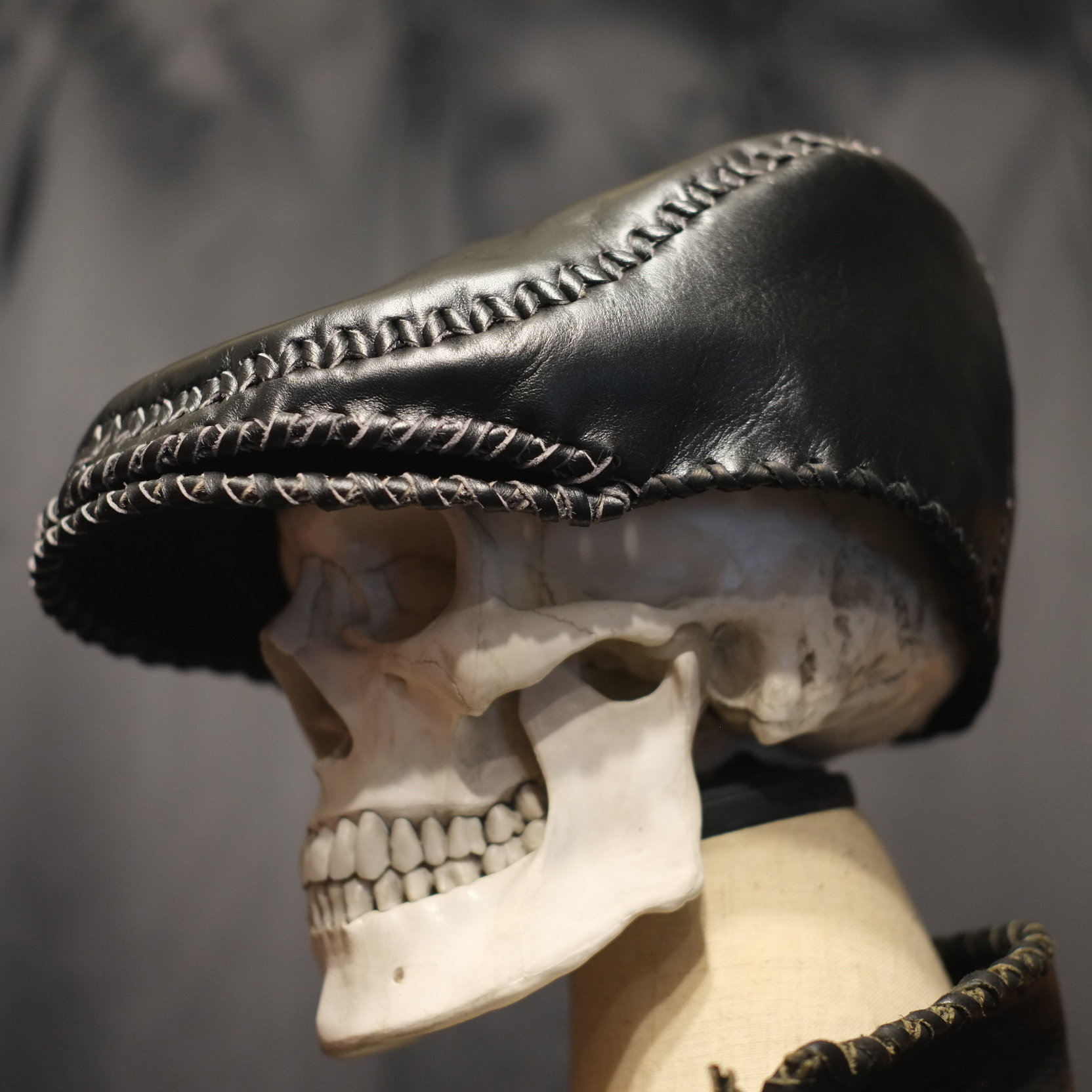 Snake head Hunting hat(BLACK HORSE)予約受付販売