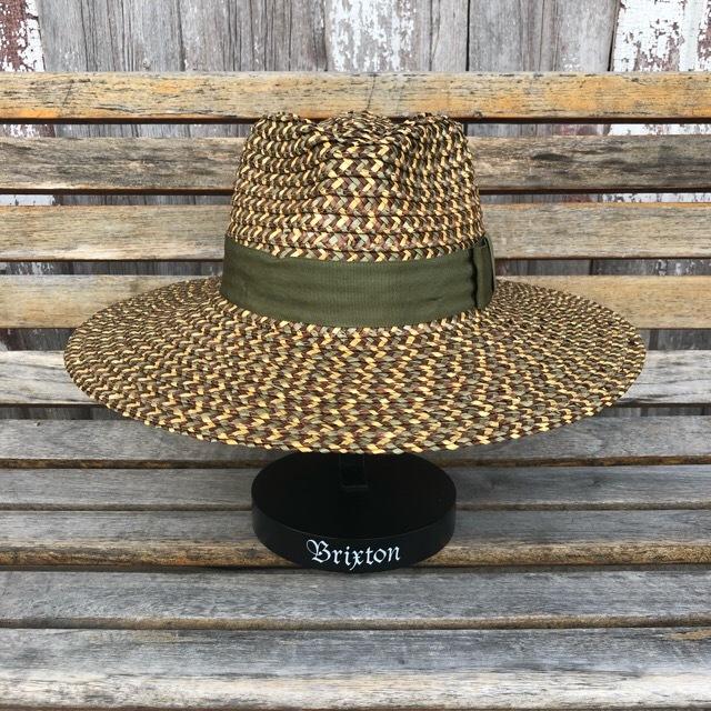 BRIXTON #Joanna Hat Bronze/Olive/Tan