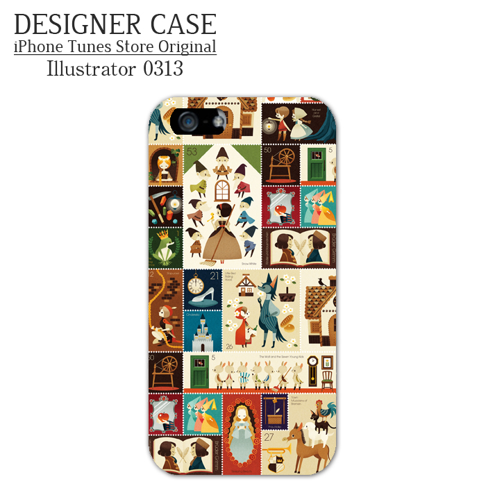 iPhone6 Soft case[Grimm's Fairy Tales] Illustrator:0313