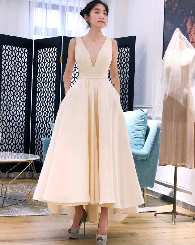 a152a6ac70689 (whwdgdrsb-V0002) オフショルダー スリット入り ウェディングドレス 白 二次会 花嫁 カラードレス 大きいサイズ ウェディング 白  ワンピース