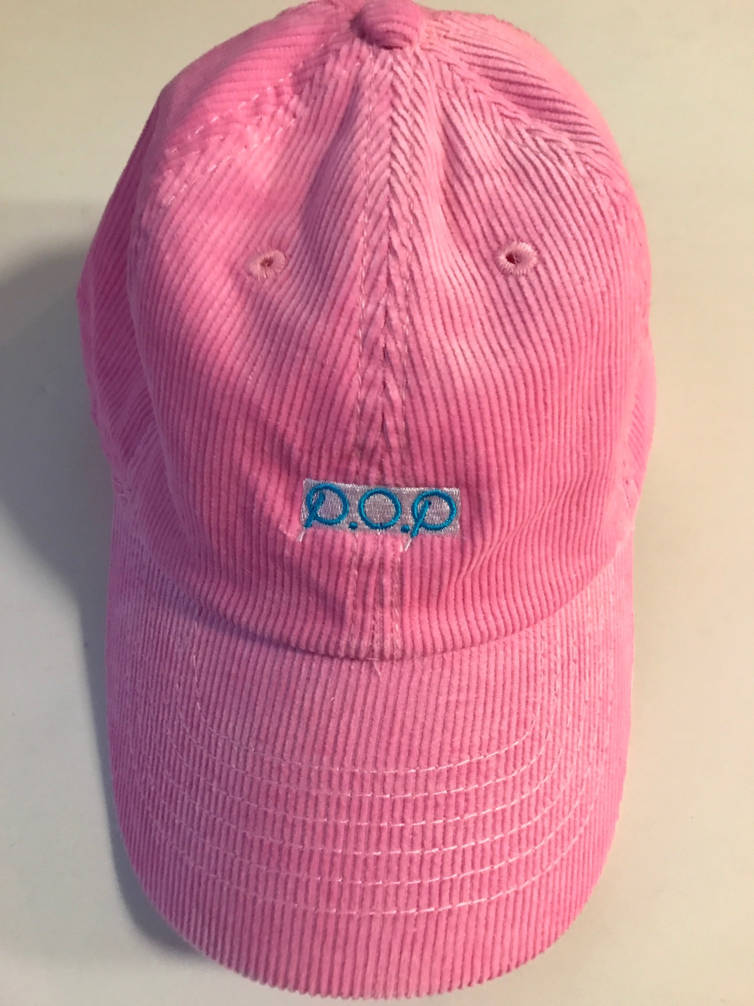 P.O.P CAP ピンク(コーデュロイ) - 画像3