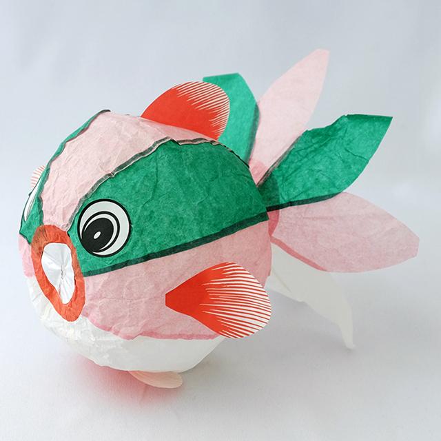いまどきの紙風船 1匹金魚