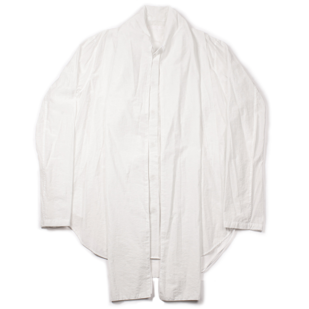 717SHM2-OFF WHITE / スカーフカラーシャツ