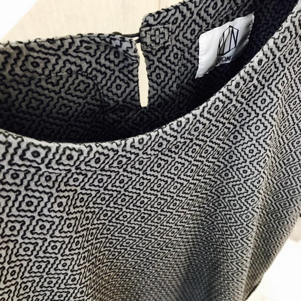 KUON 刺し子織り Short-sleeve Shirt