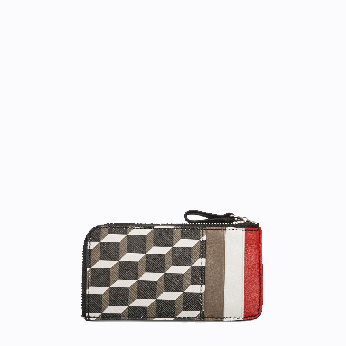 PIERRE HARDY CADE CASE BLACK RED