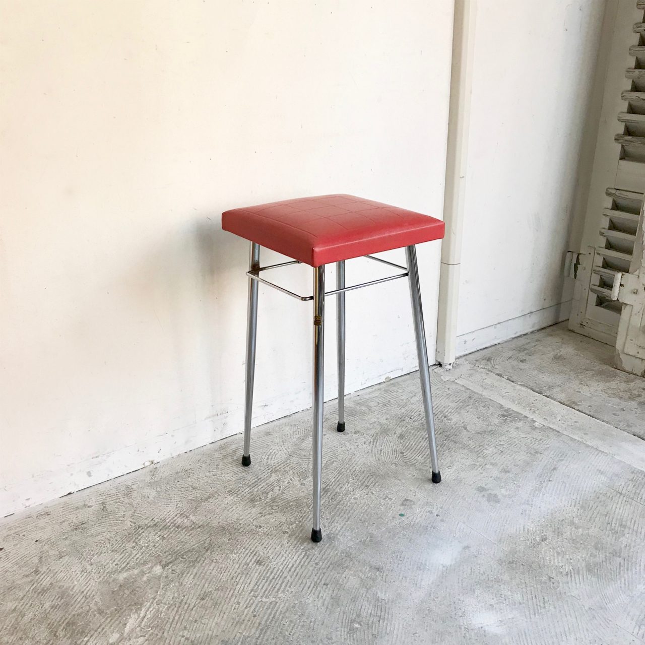 Super Brabantia Stool Red 60S Vintage Couscous Furniture Powered By Base Bralicious Painted Fabric Chair Ideas Braliciousco
