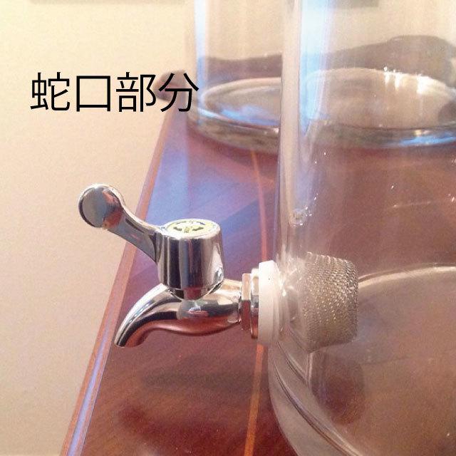 水やり簡単蛇口付き観葉ギャザリングに【ストレスレスポット】大25×25 - 画像2
