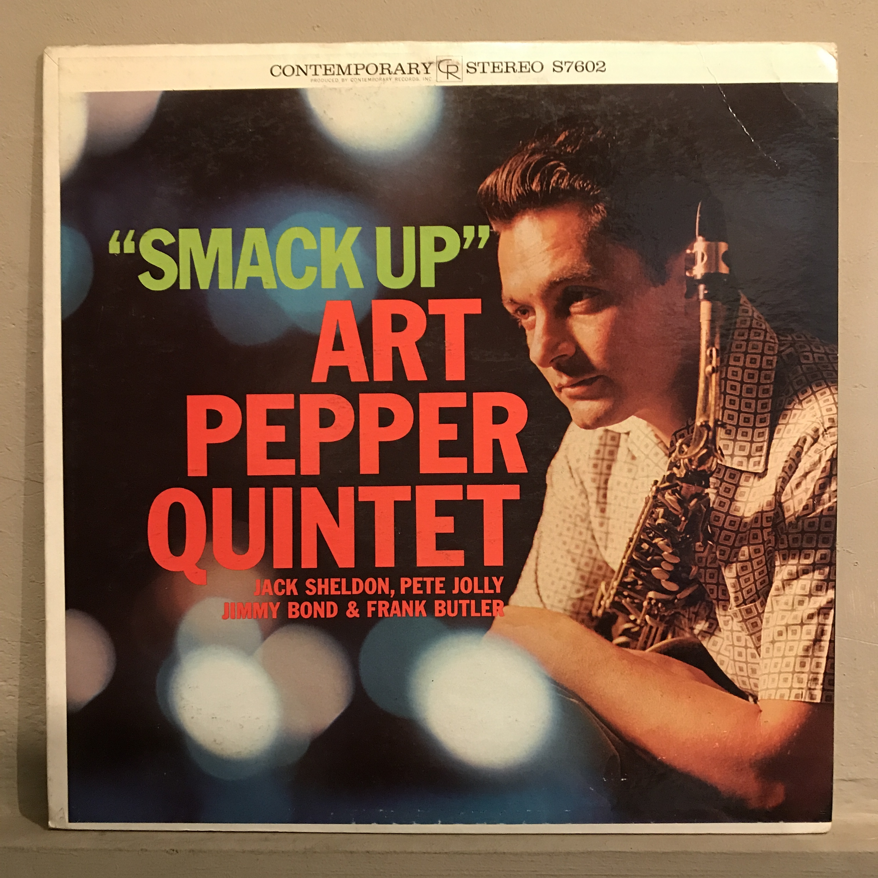 ●ART PEPPER QUINTET/SMACK UP
