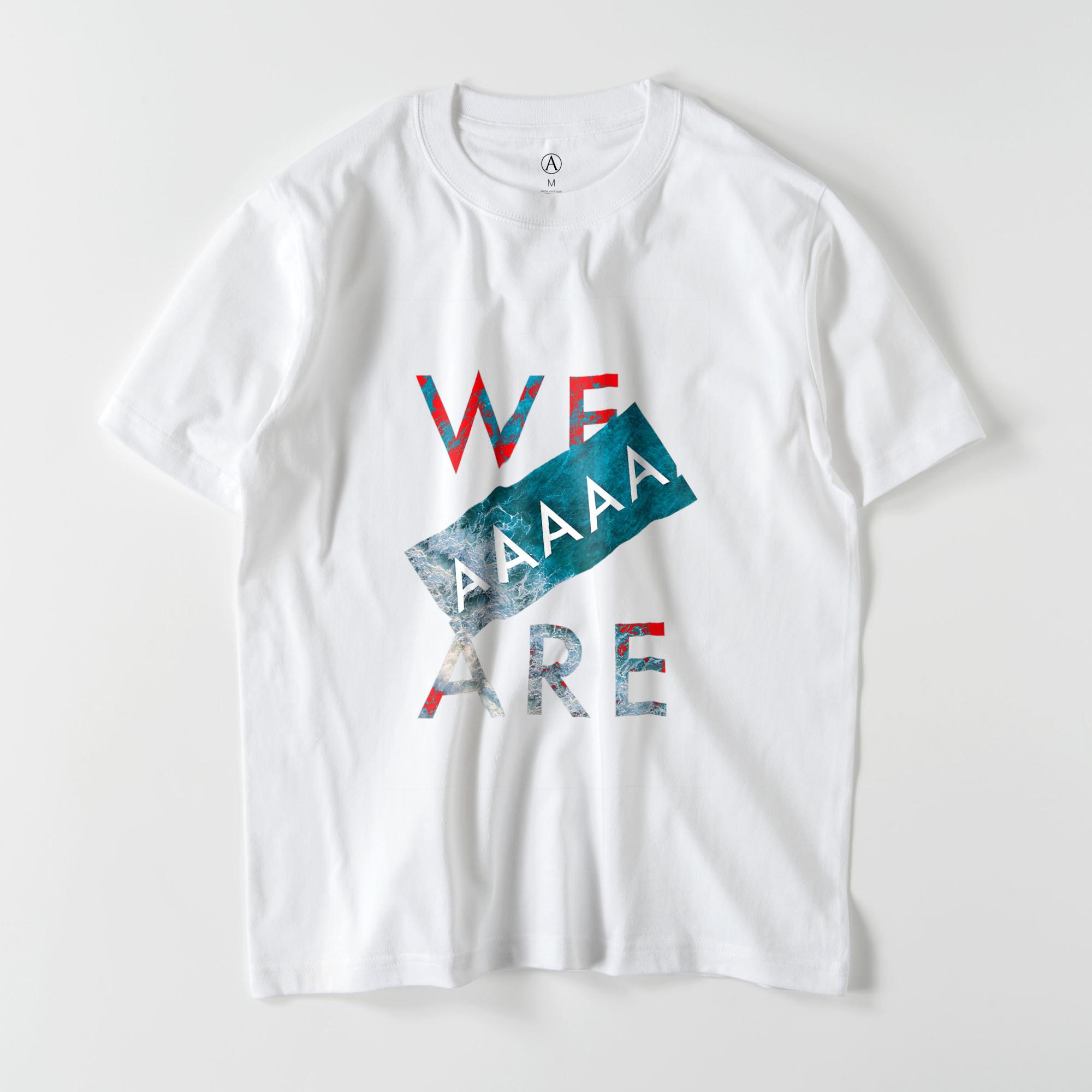 We are AAAAA スタンダードTシャツ /Mens(11色)