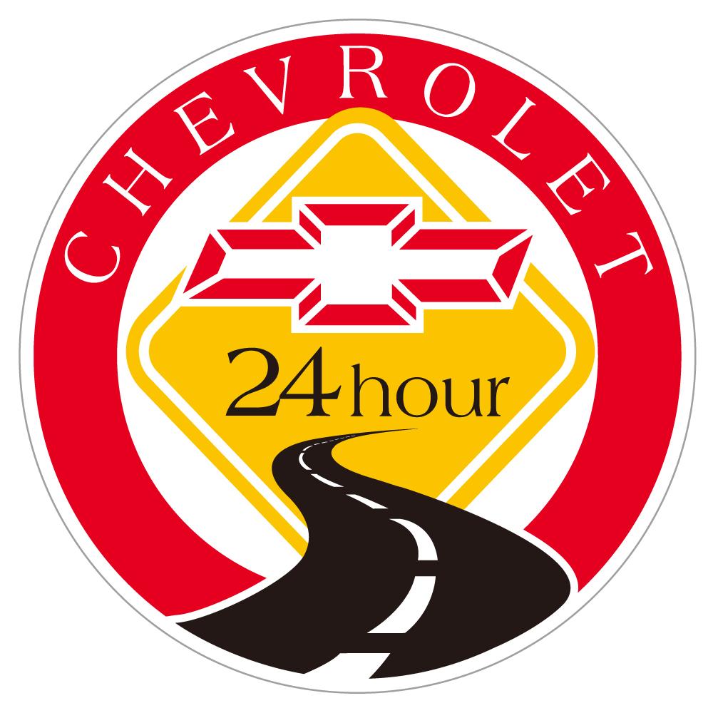 "181 CHEVROLET Roadside Assist ""California Market Center"" アメリカンステッカー スーツケース シール"