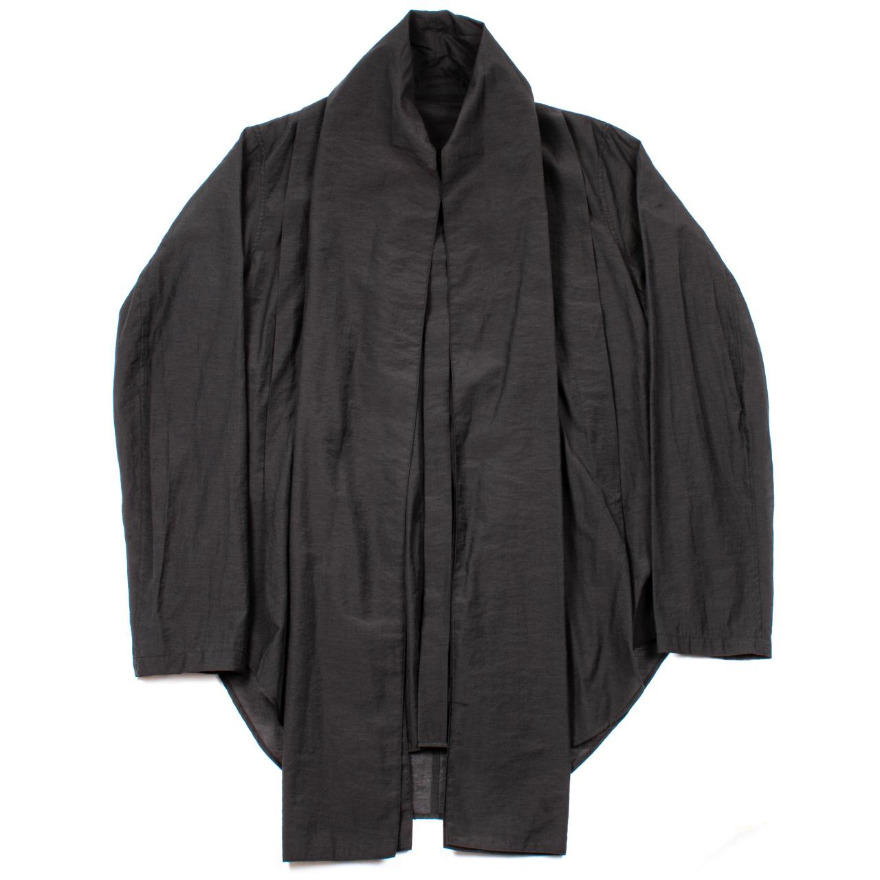 717SHM2-BLACK / スカーフカラーシャツ