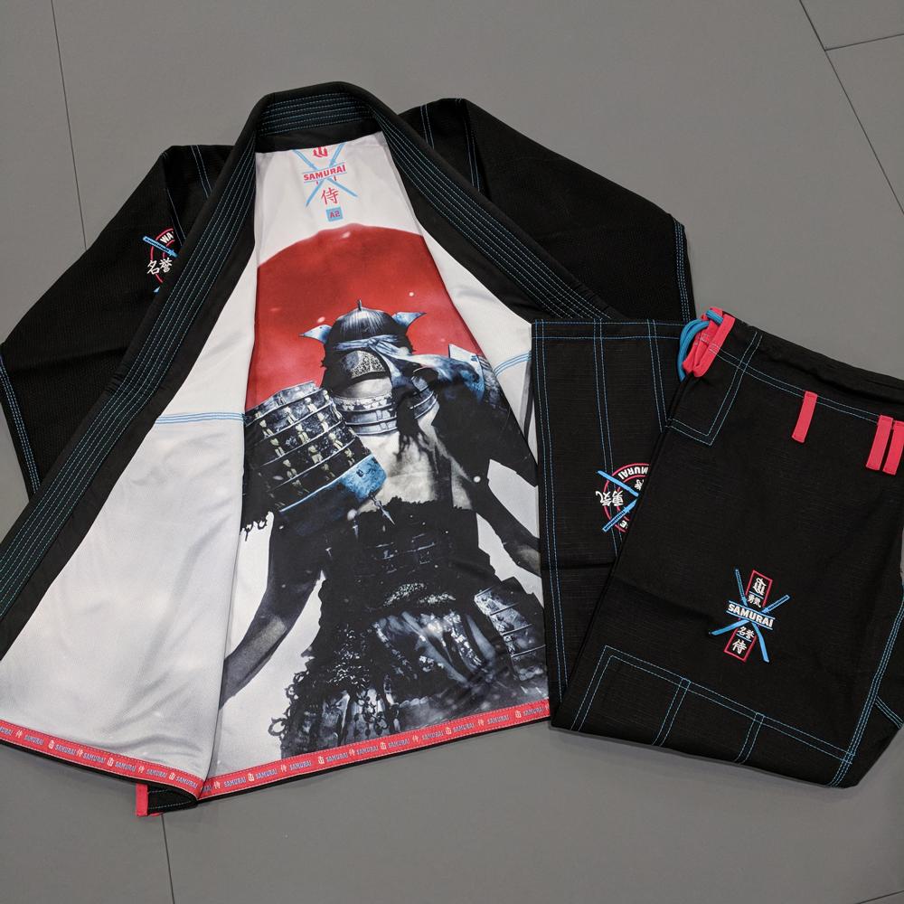 WAR TRIBE GEAR SAMURAI GI ブラック|ブラジリアン柔術衣