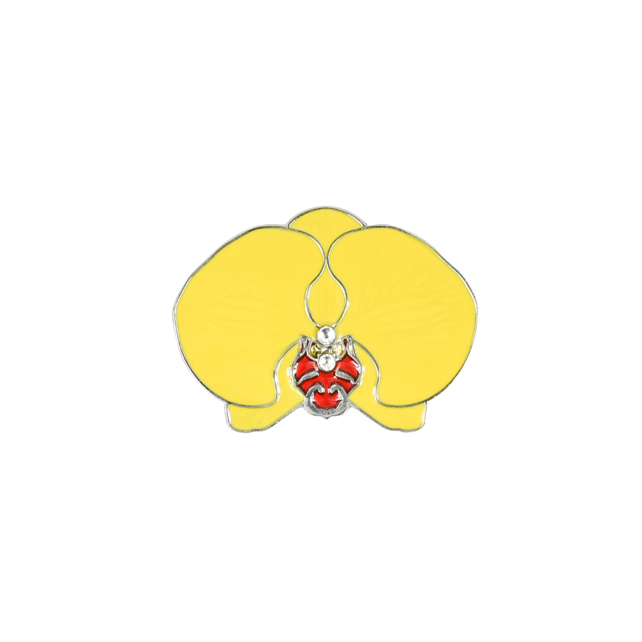 248. Orchid Yellow Divot Tool & Ball Marker Set