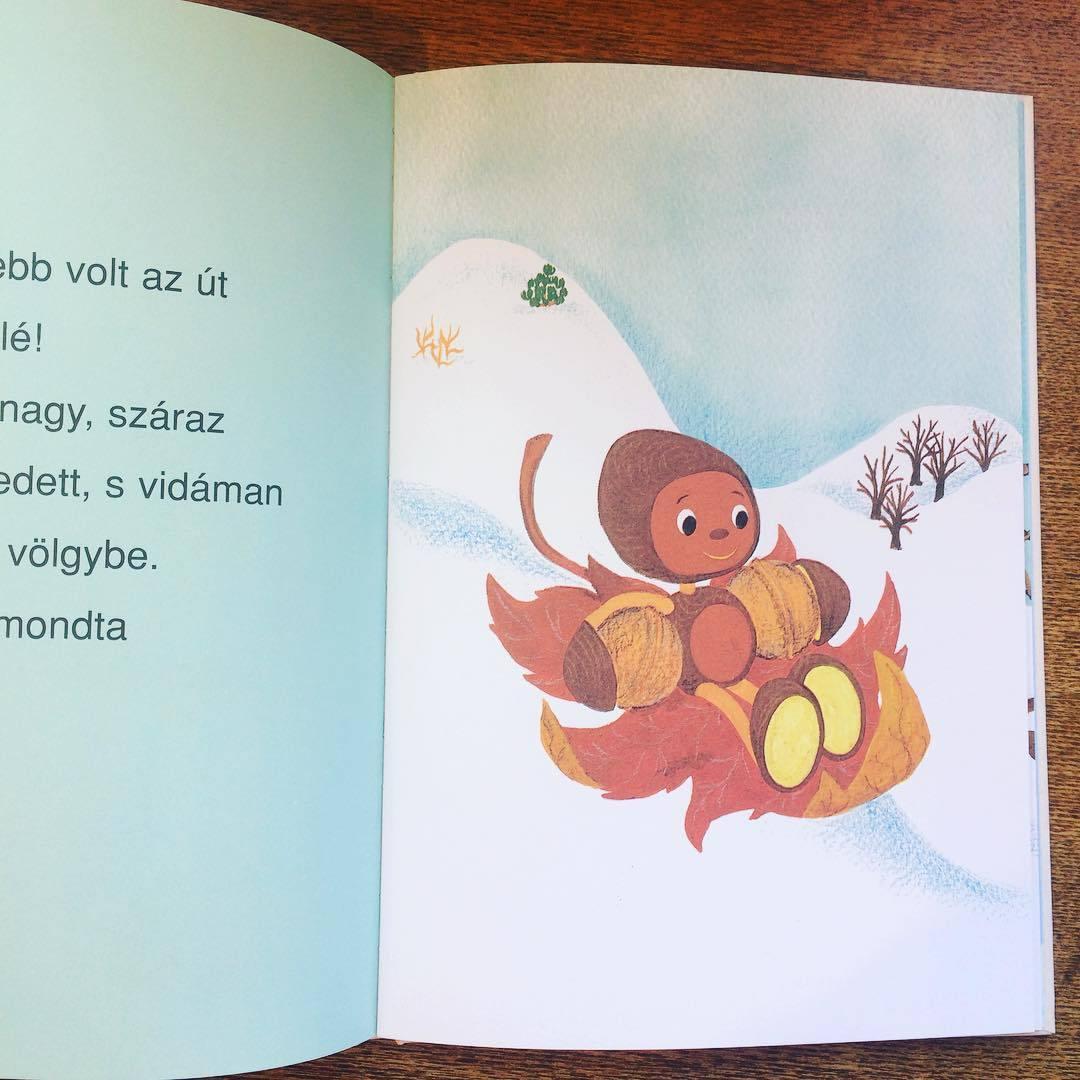 東欧ハンガリー絵本「ゆきのなかのキップコップ/マレーク・ベロニカ」 - 画像2
