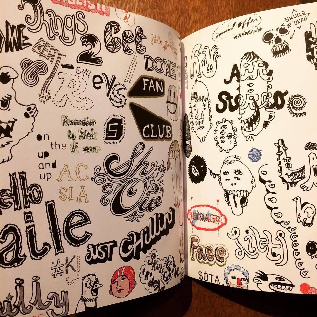 作品集「Hand Job: A Catalog of Type」 - 画像3