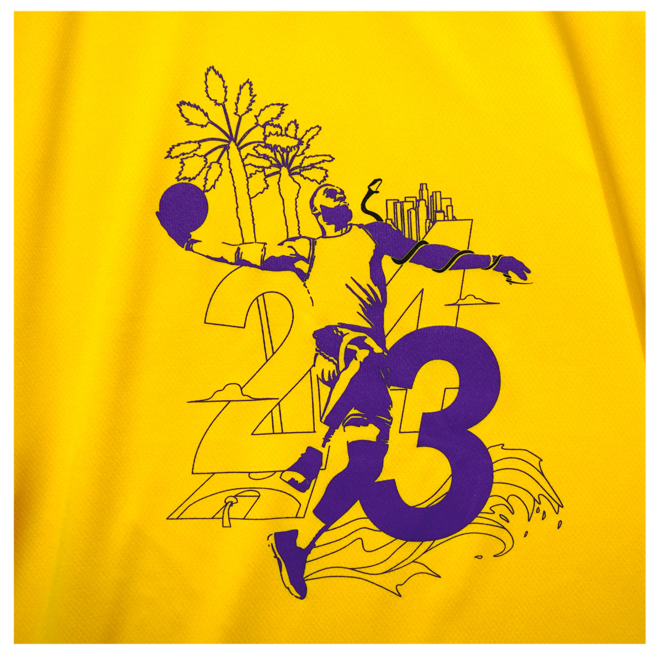 Los Angeles S/S PL <C.Yellow×Purple×Black> - 画像2