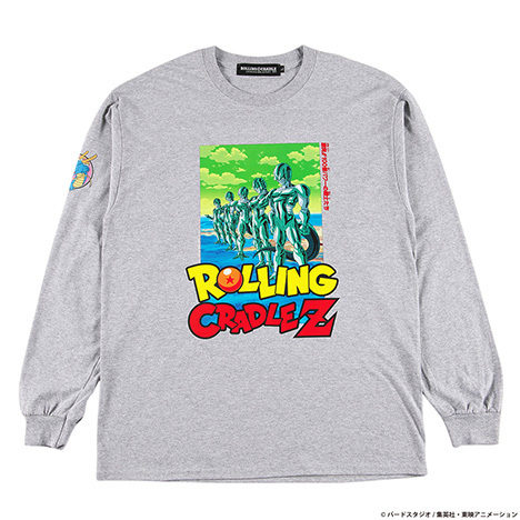 ROLLING CRADLE(ロリクレ) | RCxDRAGON BALL Z LONG SLEEVE SHIRT / Gray
