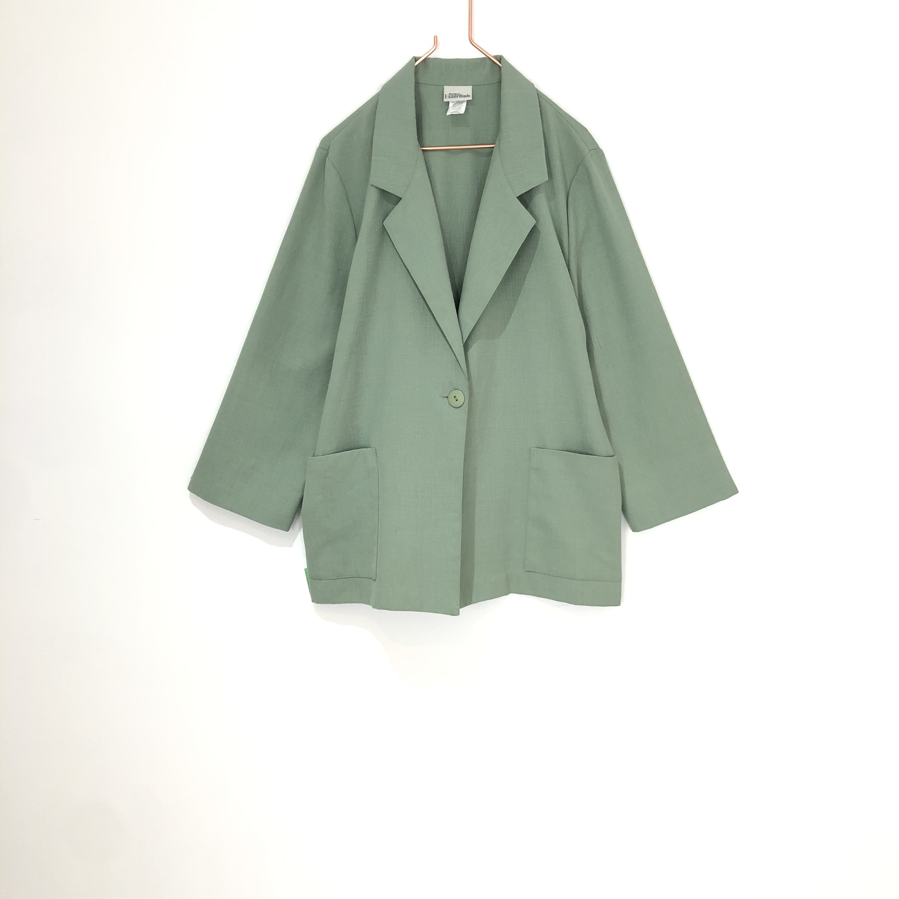 ◼︎90s mint color single jacket from U.S.A.◼︎