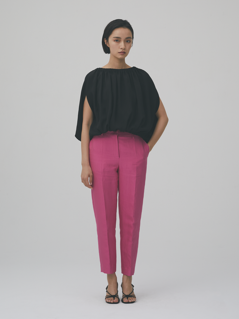 pink tapered pants