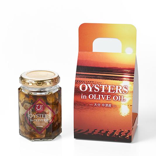 ひがた美人 オリーブオイル漬け/牡蠣の旨味がつまったオイル
