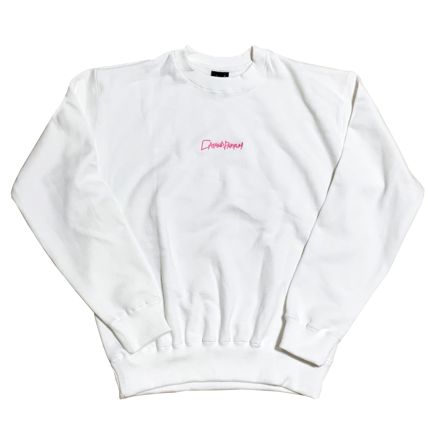 Hand Letter Logo Embroidery Sweat
