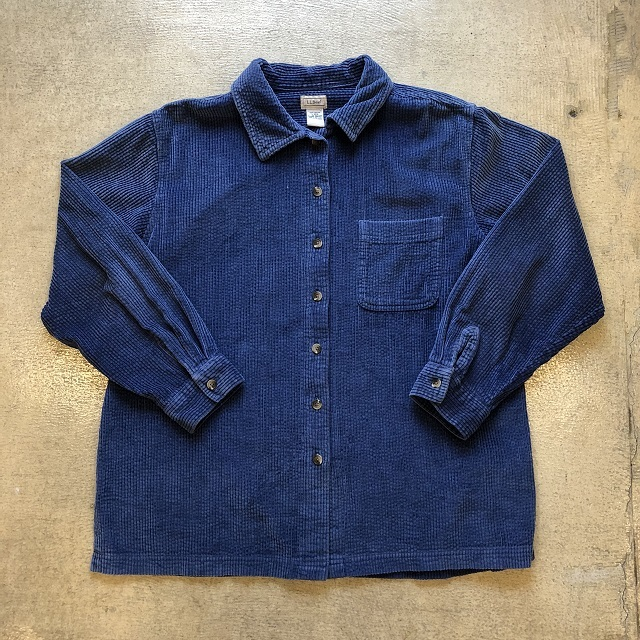 LLbean Corduroy Shirt #09