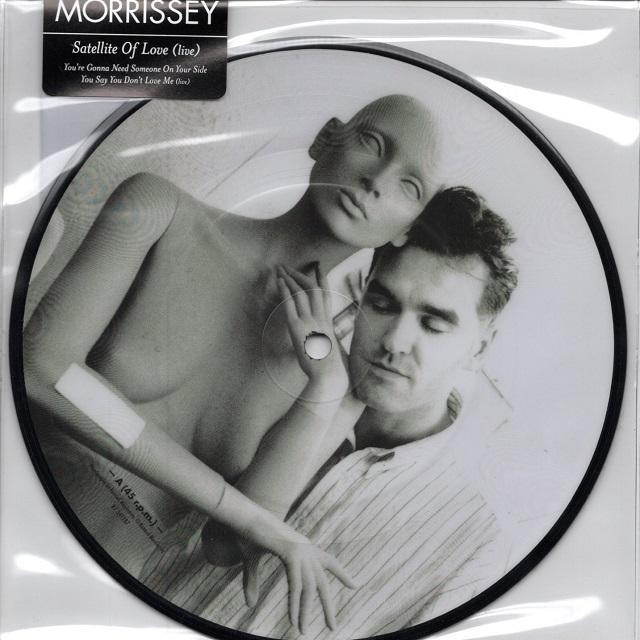 【7inch・欧州盤】Morrissey / Satellite Of Love (Live)