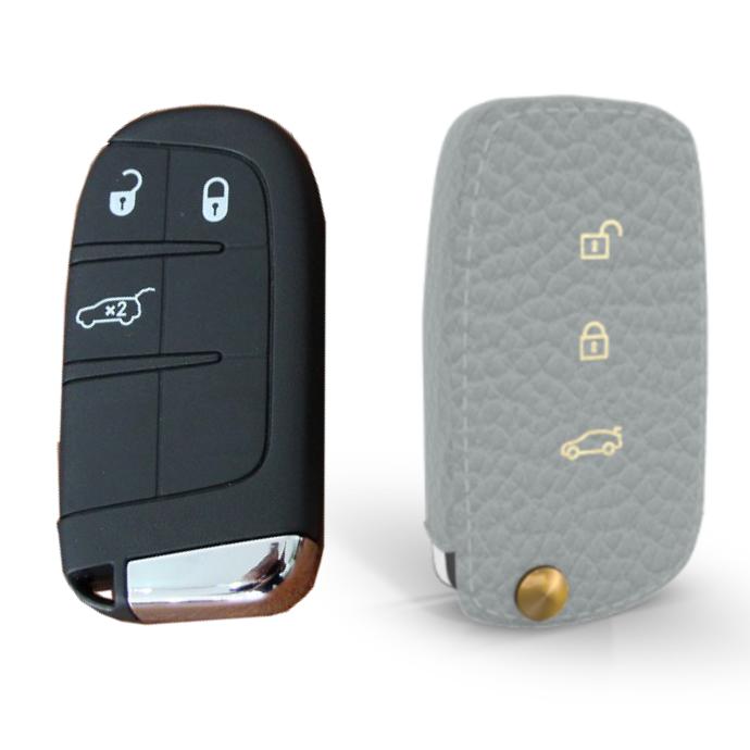 Alfa Romeo 専用 TypeA-FIAT Car Key Case Shrink Leather Case