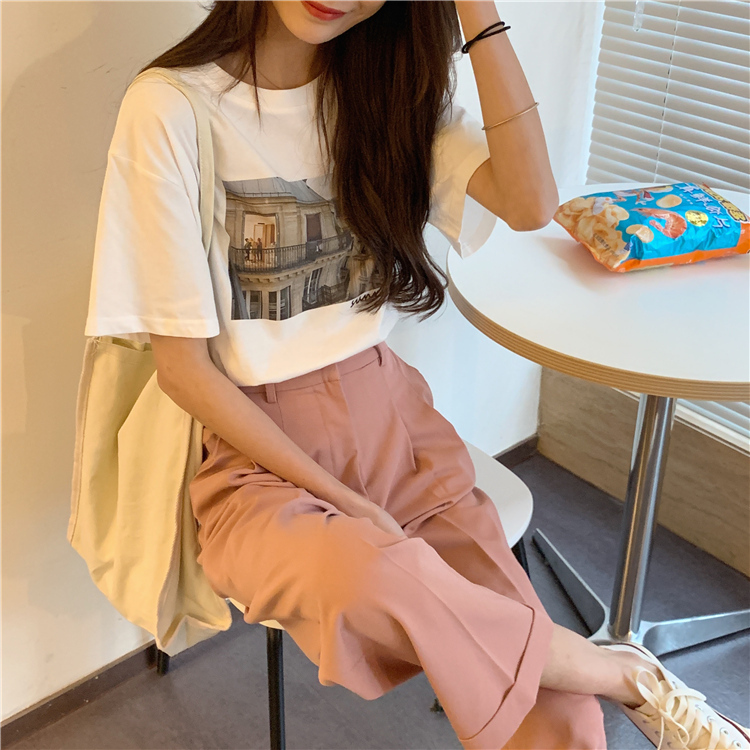 ピーチワイドパンツ 【peach wide pants】