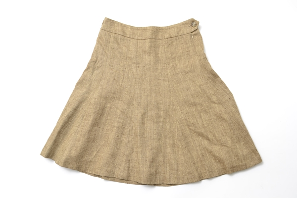 Ralph Lauren size9 linen silk skirt /made in japan
